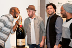 Bad Rabbits with Moet Bottle at Peace Market 2012