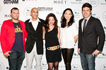 Hummus Taste-off Celebrity Judges at Peace Market 2012, Danyelle Freeman, Judy Joo, Joe Campanale,Josh Beckerman, Chef Mehta