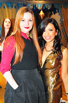 Amber Tamblyn and Event co-chair Grishma Parekh at Peace Market 2012